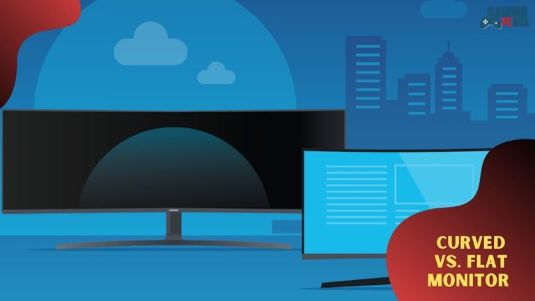 Curved vs. Flat Monitor – What's the Difference